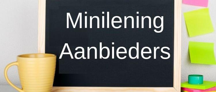 Minilening aanbieders