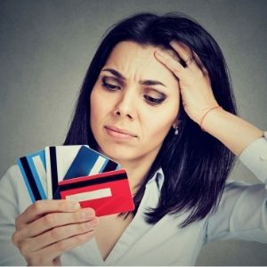 Aflossen dure credticardschuld